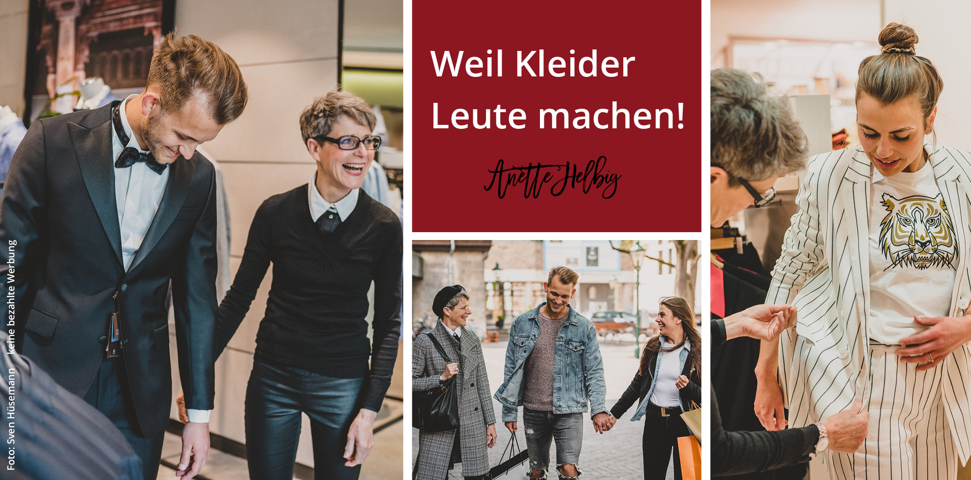 Shoppingtour mit Anette Helbig